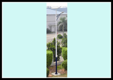Long Life-Span Solar Powered Led Street Lights 30W LED Solar Pole Lights With Battery