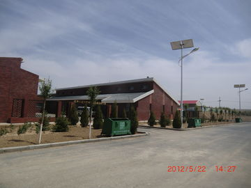 Commercial 600w Along Wind Solar Hybrid Off - Grid System With 60W Street Lightings 750RPM