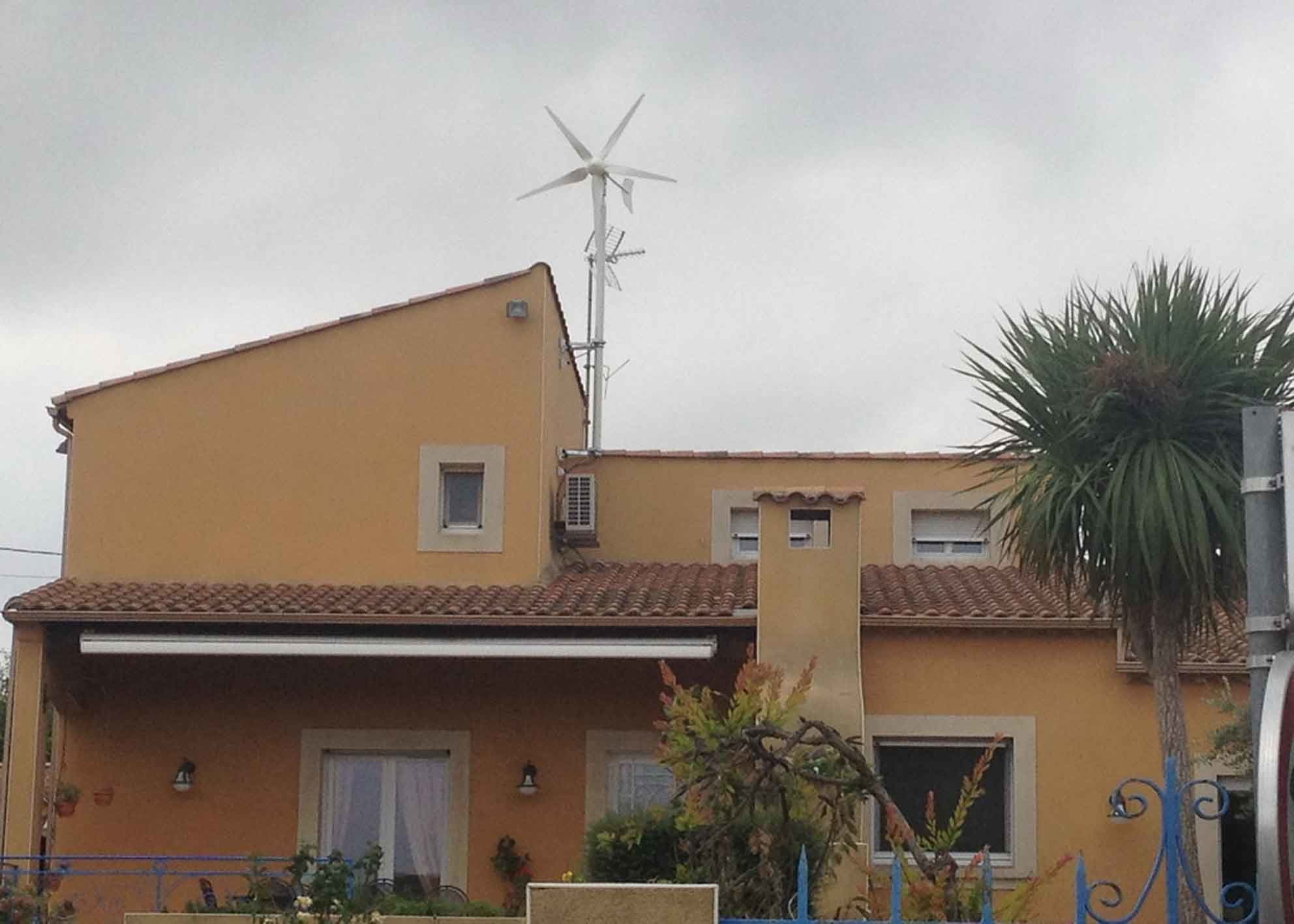 Easy Installation Home Wind Generator With Braking System Long