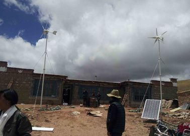 High Stability Complete Wind Turbine System , Off Grid Hybrid Solar Wind Power System