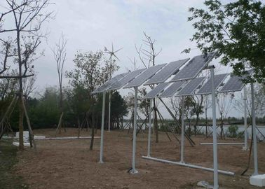 3KW Hybrid Solar And Wind Energy System , Solar Wind Power Generator System For Camping Site