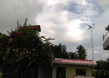 24V 48V 600W Wind Power Generator , Residential Electric Wind Turbines For Home